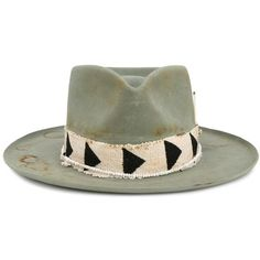 Nick Fouquet 'Little Cypress' Hat ($1,375) ❤ liked on Polyvore featuring men's fashion, men's accessories, men's hats and none