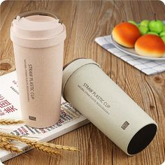Coffee Cup BPA Free Double layer Plastic cup Travel Coffee My Water cup Eco-Friendly Tea Cup Home Drinking Eco Friendly Water Bottles, Cheap Water Bottles, Plastic Bottles, Travel Bottles, Drink Bottles, Coffee Cups, Tea Cups, Cup With Straw, Organic Soap