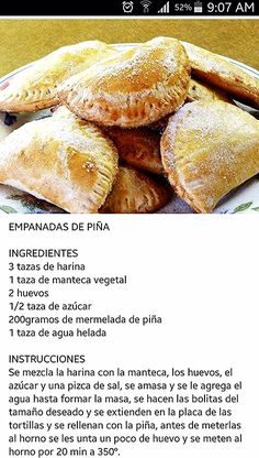 No Salt Recipes, Cake Mix Recipes, Bakery Recipes, Donut Recipes, Sweet Recipes, Cooking Recipes, Mexican Pastries, Mexican Sweet Breads, Mexican Dishes
