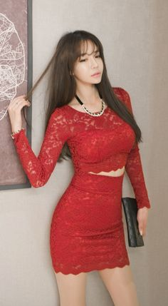 http://luxeasian.com Luxe Asian Women Design Korean Model Fashion Style Dress