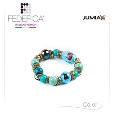Bracelet EBE 3 Stretch bracelet with ceramic pearls. 1.400,00 Ksh http://www.federicafashion.com/it/ep90/bracelet-ebe-3/ http://www.jumia.co.ke/federica-fashion/