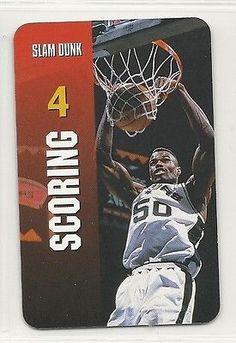 1998 NBA Interactive TV Game Card - Scoring - David Robinson - San Antonio  Spurs 69a6fa739