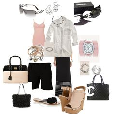 Blogging Outfit, created by cynthia-johnston-martinez on Polyvore
