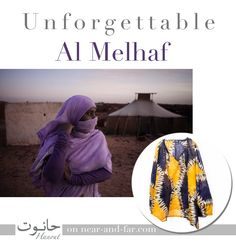 "Al melhaf In Mauritania I got fascinated for the marevellous typical north-African #textile normally used by #women, called al melhaf: when I created near-and-far, I looked for the wonderful al melhaf textiles and I created, together with ""Atelier Hanout"",  blouses and jumpsuits that I 'm sure you ll fell in love for.  http://bit.ly/1zCGU4y #memories #gift #color #elegance #traditions #creaytivity"