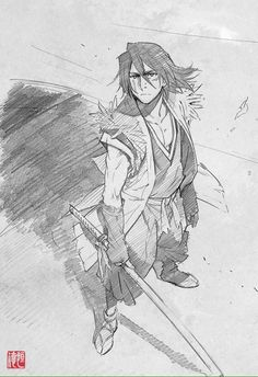\ Tsunenori Saito \ Stranger: Mukou Hadan ストレンヂア -無皇刃譚 Sword of the Stranger \ \ \ Nanashi Drawing Poses, Manga Drawing, Manga Art, Character Concept, Character Art, Concept Art, Comic Kunst, Comic Art, Sword Of The Stranger