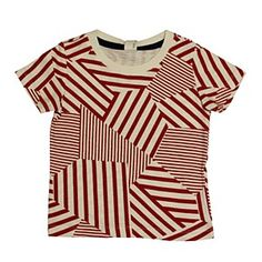 Arch Red Print Tee