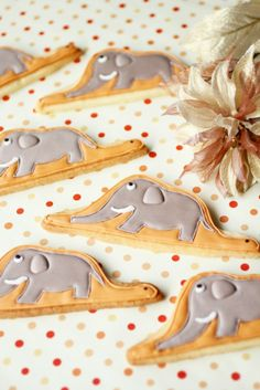 Cookies, decorations
