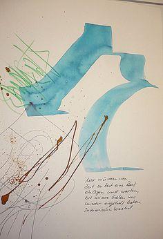Artmann Sigrid Kalligrafie und Schriftkunst Ludwigsburg - workshops