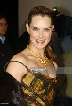 Brooke Shields during Donna Karan Celebrates the First Twenty Years... News Photo | Getty Images