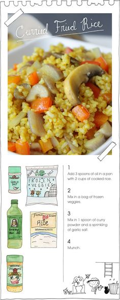 The Vegan Stoner's Curried Fried Rice