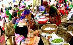 Sapa Minority market, Indochina