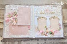 Zdjęcia Скрапбукинг Scrapbook Journal, Mini Scrapbook Albums, Baby Scrapbook, Diy Mini Album, Paper Bag Album, Diy Crafts For Girls, Baby Album, Pink Paper, Crafty Craft