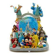Boule à Neige Musicale de Luxe Mickey Mouse et ses Amis Disneyland Paris