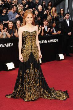 Jessica Chastain. Academy Awards 2012