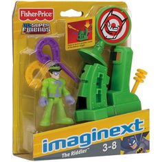 Fisher-Price Imaginext DC Superfriends The Riddler Action Figure Play Set - Walmart
