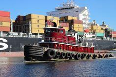 Savannah tug boat