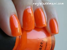 China Glaze Orange Knockout