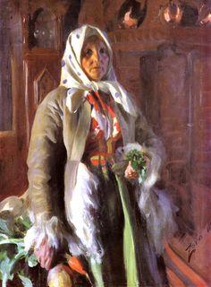 Anders Zorn: Mona