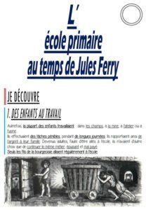 CM-Histoire-Le pack « L'école primaire au temps de Jules Ferry »