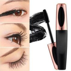 Our Silk Fiber Eyelash Mascara will make you looks more glamorous! AN ESSENTIAL FOR LADIES: The silk fiber eyelash mascara can be used in party or professional makeup, it is an essential goods for ladies. Curling Mascara, Fiber Lash Mascara, Fiber Lashes, Curling Eyelashes, 3d Mascara, Lash Extension Mascara, Blackhead Mask, Mascara Wands, Longer Eyelashes