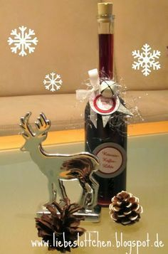 liebeslottchen: Rotwein-Kaffee-Likör Mehr