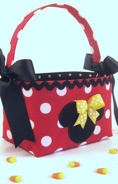 Minnie Mouse Halloween Costume TrickorTreat by TwentyLittleToes, $35.00