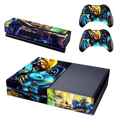 Competent Deadpool Xbox One S Sticker Console Decal Xbox One Controller Vinyl Skin Video Game Accessories Faceplates, Decals & Stickers