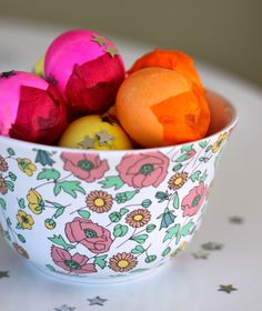 How to Make Cascarones (Confetti Eggs), an Easter tradition in our home.