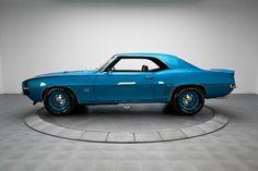 1969 Lemans Blue Chevrolet Camaro RS/SS 396 V8 | Gear X Head
