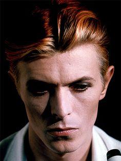 David Bowie c. 1975 via davidbowie.com
