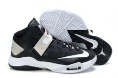 bafa8c2dfd0 Discount nike zoom lebron soldier - black white grey are always welcome.  Cheap lebron james shoes for sale is your best choice if you are looking  for ...