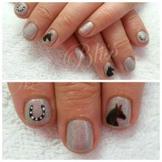 Horse Gel Nails by Miss Bliss Nails and Education Christchurch