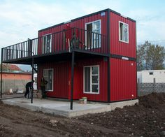 Simple Container Home Ideas