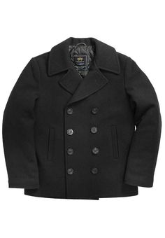 Gorrila Surplus - Alpha Mens USN Navy Pea Coat | стиль и мода