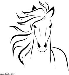 White Horse by marauder - just a horse made with inkscape