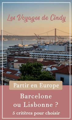 Barcelone ou Lisbonne ? Que choisir ? #europe #espagne #portugal #tourisme #blogvoyage Weekend France, Destinations, French Lifestyle, Voyage Europe, Destination Voyage, Blog Voyage, Coin, Blogging, Happiness