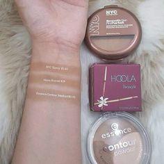 WEBSTA @ dupe_it - I found two awesome alternatives for the @benefitcosmetics 'Hoola' Bronzer: @essence_cosmetics Contour Powder