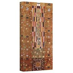 @Overstock - Artist: Gustav Klimt  Title: Abstract Frieze  Product type: Canvas, wrapped canvashttp://www.overstock.com/Home-Garden/Gustav-Klimt-Abstract-Frieze-Gallery-Wrapped-Canvas/7671634/product.html?CID=214117 $38.24
