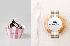 Paul Smith Cupcake + Burberry Burger