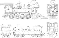 Steam Train Blueprints