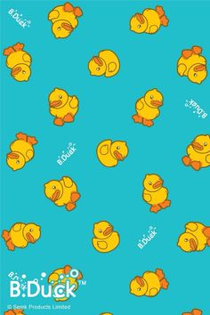 B duck Duck Wallpaper, Disney Wallpaper, Yellow Print, Blue Yellow, Purple Accent Walls, Duck Tattoos, Mermaid Wall Decals, Gallery Wall Layout, Wall Paper Phone