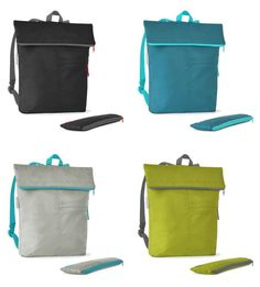 Flip and tumble backpacks fold into their own lightweight pouches  fbc1aed9f6678