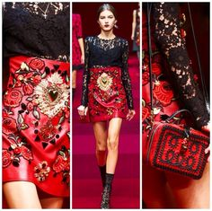 Spring/Summer 2015 Dolce & Gabbana - Charlie Pea