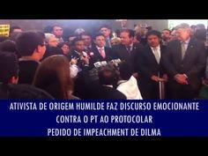 Correio do Poder: Ativista de origem humilde faz discurso emocionante contra o PT ao protocolar pedido de impeachment de Dilma; veja vídeo