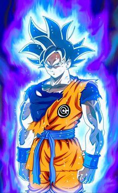 How Strong Is Super Saiyan Blue Goku? Is Super Saiyan Blue Goku weaker than previous forms? Here is why Super Saiyan Blue is stronger than you think. Goku Wallpaper, Wallpaper Animes, Dragon Ball Gt, Foto Do Goku, Goku Pics, Akira, Anime Costumes, Cartoon, Fan Art