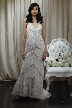 Grandiosos vestidos de novias   Colección Badgley Mischka