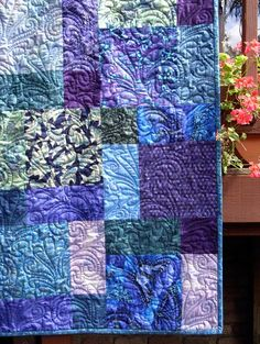Disappearing 9 patch quilt - see site for directions