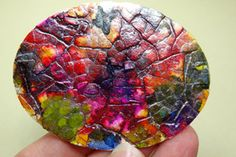 Splitcoaststampers - egg shell mosaics