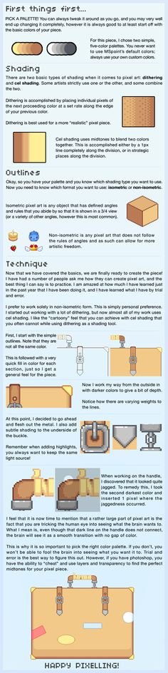 MSpaint Pixel Tutorial by mocha-san.deviantart.com on @deviantART
