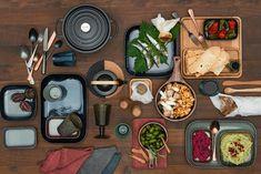 WARME HARMONIEN: Plüschig und naturbelassen. Ein Hoch auf die gediegene Behaglichkeit Table Settings, Place Settings, Tablescapes